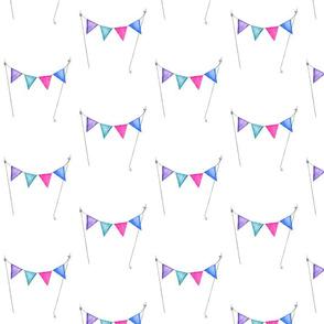 Purple Pennant