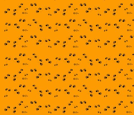 Paws2 fabric by sleepytown_beagles on Spoonflower - custom fabric