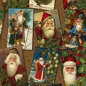 Vintage Santa Print