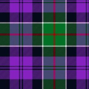 "Colquhoun tartan variant, 6"" modern green/purple"