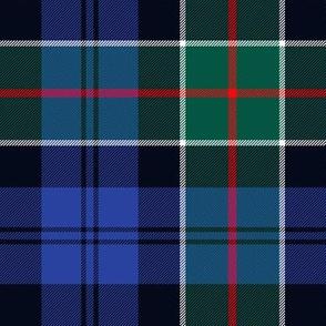 "Colquhoun tartan variant, 7"" dark modern"