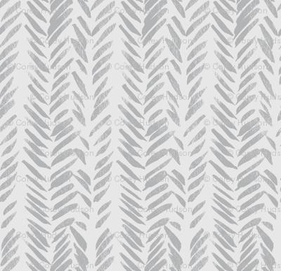 Grey on Grey Brush Stroke