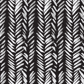 Black Background Brush Stroke