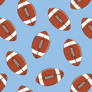 college football - blue