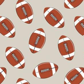 college football - beige