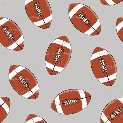 college football (grey)