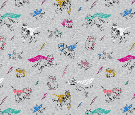SUPER_HEATHER fabric by pattern_state on Spoonflower - custom fabric