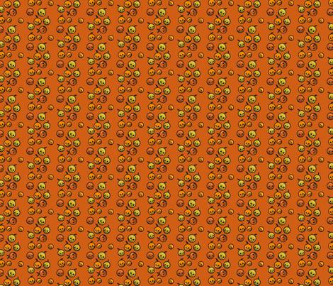 Nightshade Berries fabric by littlemeganlittle on Spoonflower - custom fabric