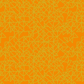 Nightshade Grid Allover - Orange