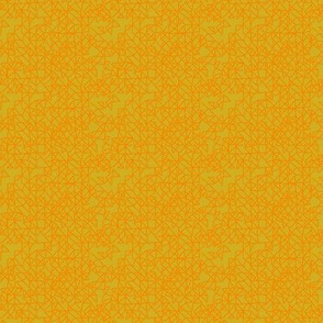 Nightshade Grid Allover - Yellow