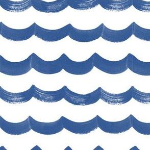 waves & sea print