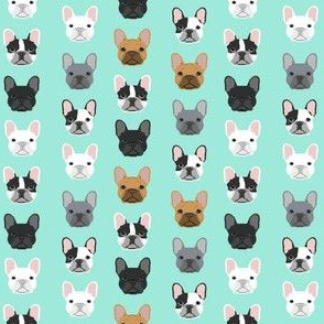 French Bulldogs french bulldog mint sweet dog puppy puppies dog lovers frenchie owners crafts - mini version