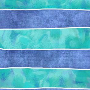 Spaceship-Stripes_Blues XL