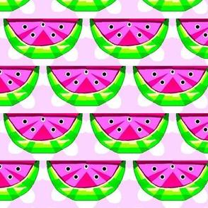 many watermelon slices 01