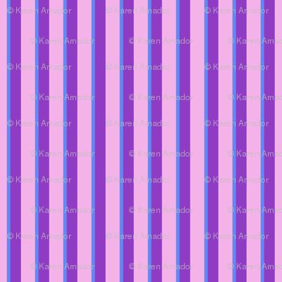 Cutie Moons Purpley Stripes - Jumbo