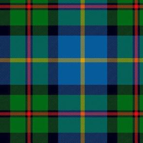 """MacLeod of Assynt, 6"""" modern green/blue"""