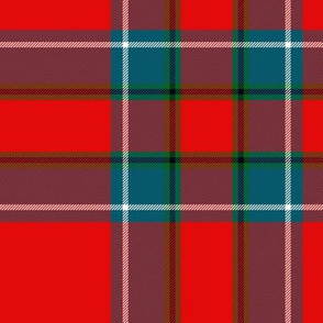 "Inverness tartan variant, 10"" ancient"