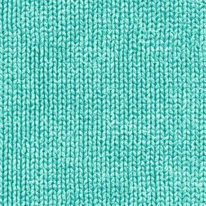 surf teal faux knit