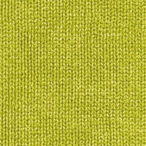 wasabi green faux knit