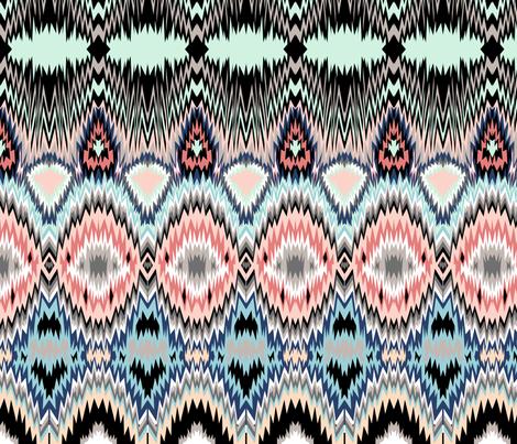 Kezie fabric by pamelachi on Spoonflower - custom fabric