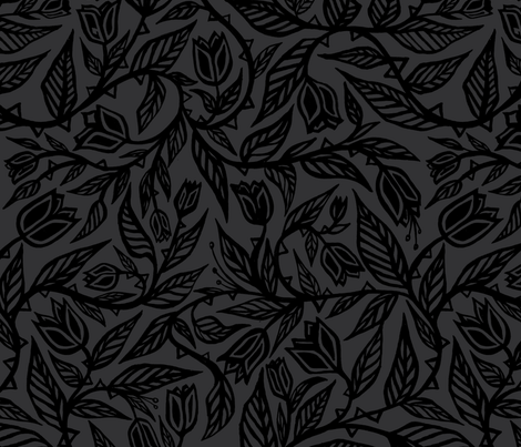 Flourish Pattern 2 by SeanMartorana fabric by seanmartorana on Spoonflower - custom fabric