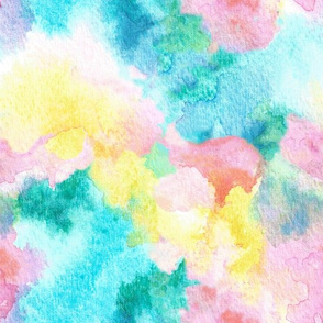 Watercolor Abstract One