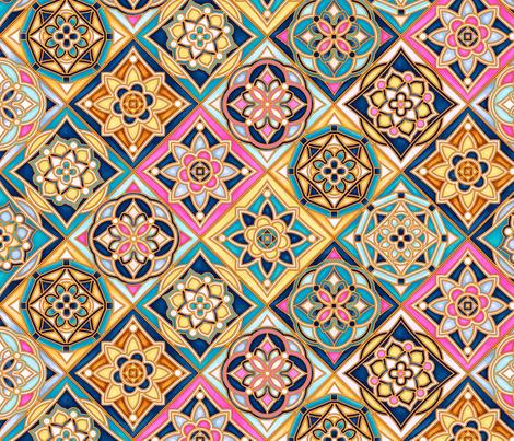 Bohemian Geo - Multi fabric by meganpalmer on Spoonflower - custom fabric