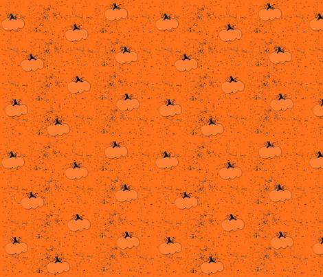 pumpkins fabric by lapetitepineapple on Spoonflower - custom fabric