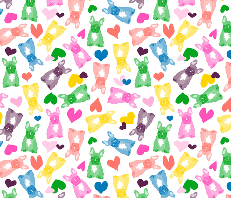 Gummy Puppies fabric by angelastevens on Spoonflower - custom fabric