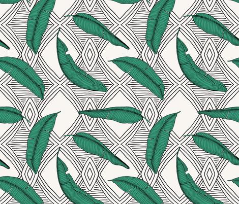 ORINOCO_JUNGLE_LINE fabric by holli_zollinger on Spoonflower - custom fabric