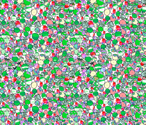 eyelets watercolor 5 fabric by hypersphere on Spoonflower - custom fabric