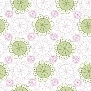 Boho Blossom Sage Blush