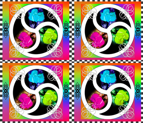 Polyamorous fabric by ladyfayne on Spoonflower - custom fabric