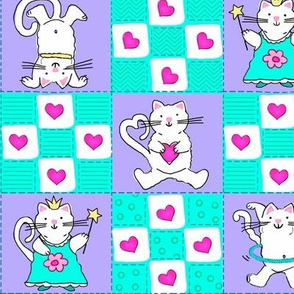 Silly Cat Quilt