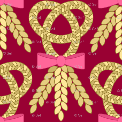 06695139 : corn braid favour