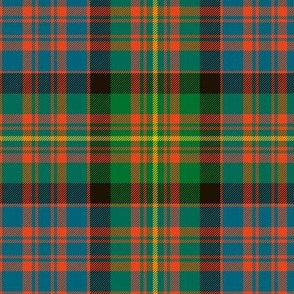 "Carnegie tartan, 6"" ancient colors"