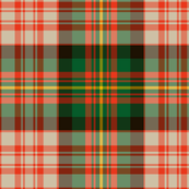 "Carnegie dress tartan, 6"" ancient colors"