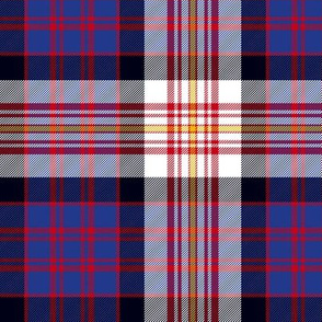 "Carnegie tartan #2, 6"" modern colors"