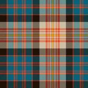 "Carnegie tartan #2, 6"" ancient colors"