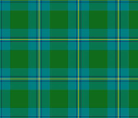 "Irving of Bonshaw tartan, 6"" fabric by weavingmajor on Spoonflower - custom fabric"
