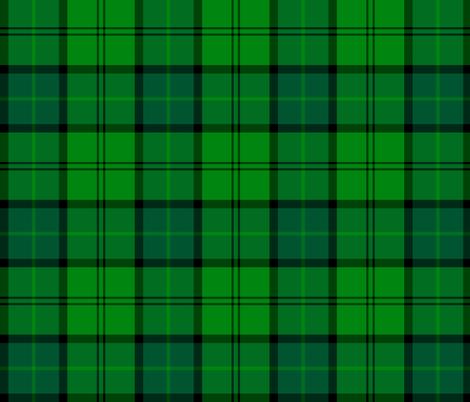 "Dunbar hunting tartan, 6"" fabric by weavingmajor on Spoonflower - custom fabric"