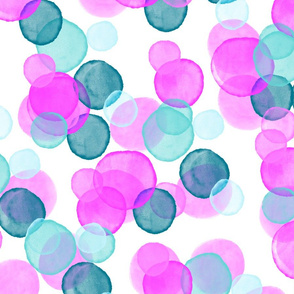 Electric Pink Unicorn Bubbles