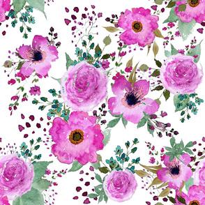 Bohemian Poppies Wildflowers
