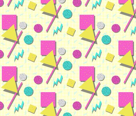 Memphis_Style fabric by lizintn on Spoonflower - custom fabric