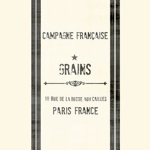 French Grain Sack / Feedsack