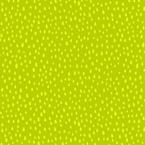 Paint Drops on Lime