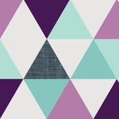 Laguna Mermaid Colorway Triangle Wholecloth