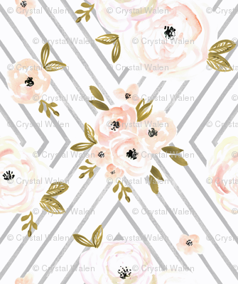 Peach Roses Mod