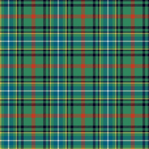 "Bisset tartan, 6"" antique colors"