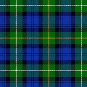 Campbell of Argyll tartan, without black guards, 6""